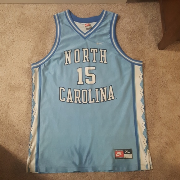 4f6ca4bf478 Nike Shirts | Unc North Carolina Basketball Jersey Vince Carter ...